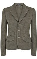 Polo Ralph Lauren Herringbone Tweed Jacket - Lyst
