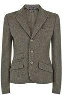 Polo Ralph Lauren Herringbone Tweed Jacket - Lyst