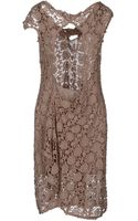 Bolongaro Trevor Cotton Lace Short Dress - Lyst