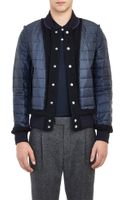 Sacai Quilted Bomber Jacket - Lyst