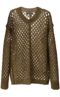 Isabel Marant Loose Knit Sweater - Lyst