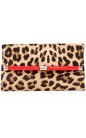 Diane Von Furstenberg 440 Calf Hair Envelope Clutch Bag - Lyst