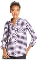 Tommy Hilfiger Button-down Plaid Shirt - Lyst