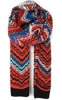 Missoni Zig Zag Crochet Scarf - Lyst