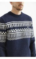 Fred Perry Tipped Island Crew Neck Sweater - Lyst