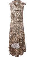 Jean Paul Gaultier Printed Bikerstyle Dress - Lyst