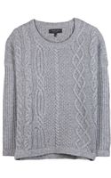 Rag & Bone Cara Wool and Cashmereblend Sweater - Lyst