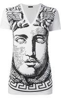 Versace Medusa Print Tshirt - Lyst