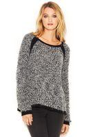 Rachel Rachel Roy Long-sleeve Mohair-blend Sweater - Lyst