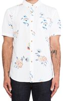 Obey Patton Button Up - Lyst