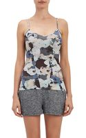 Live The Process Floral-print Corset Tank - Lyst
