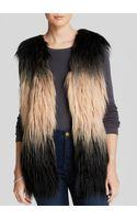 Blanknyc Vest Faux Fur Shaggy - Lyst
