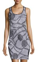 Grayse Embellished Lace Sleeveless Dress - Lyst
