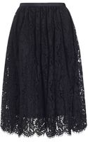 Whistles Daisy Lace Skirt - Lyst