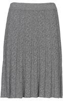 Stefanel Knitted Braid Motif Skirt - Lyst