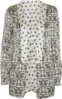 Balmain Printed Silk Jacket - Lyst
