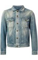 Saint Laurent Denim Jacket - Lyst