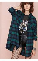 Nasty Gal Get Down Button Up Green - Lyst