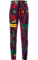 Gianni Versace Vintage Printed Trouser - Lyst