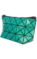 Bao Bao Issey Miyake Lucent1 Prism Pouch Metallic Green - Lyst