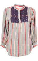Ace & Jig Folk Blouse - Lyst