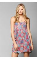Somedays Lovin Bunker Tiedye Tank Dress - Lyst