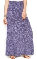 Alternative Polka Dot A-Line Maxi Skirt - Lyst