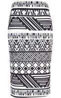River Island  Tribal Print Pencil Skirt - Lyst