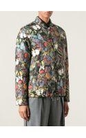 Valentino Butterfly Print Bomber Jacket - Lyst