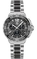Tag Heuer Mens Formula 1 Black and Stainless Chronograph Watch - Lyst