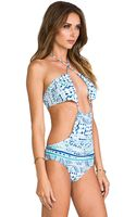 Rachel Pally Alek Monokini in Blue - Lyst