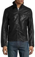 Emanuel Ungaro Fauxleather Moto Jacket - Lyst