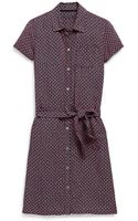 Tommy Hilfiger Mini Foulard Dress - Lyst