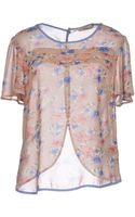 Darling Blouse - Lyst