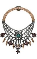 Mawi Tiered Crystal Necklace - Lyst