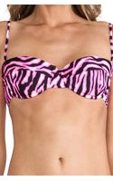 Milly Maxime Underwire Bikini Top - Lyst
