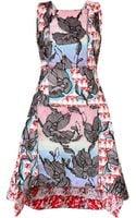 Peter Pilotto Sequined Crescent Dress - Lyst