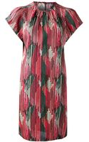 Maiyet Flutter Sleeve Dress - Lyst