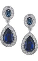 Carolee The Bethany Crystal Drop Earrings - Lyst