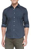 Rag & Bone Gingham Mirage Button Down Shirt - Lyst