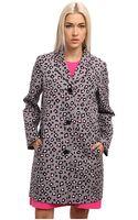 Kate Spade Cyber Cheetah Feti Coat - Lyst