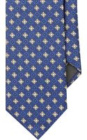 Canali Floral Medallion Jacquard Neck Tie - Lyst