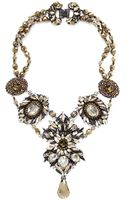 Erickson Beamon Golden Rule Crystal Necklace - Lyst