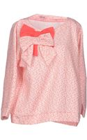 Rose' A Pois Sweatshirt - Lyst