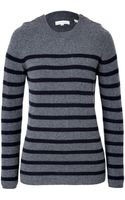 Chinti & Parker Cashmere Striped Pullover - Lyst