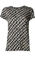 Proenza Schouler Jersey Tshirt - Lyst