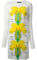 Christopher Kane Flower Chart Dress - Lyst