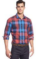 Hugo Boss Boss Lok Big Checked Shirt - Lyst
