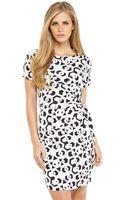 Diane Von Furstenberg Printed Leron Dress - Lyst