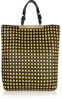 Marni Woven Leather and Raffia Tote - Lyst